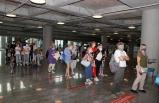Muğla'ya ilk Rus turist kafilesi geldi