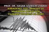 Prof. Dr. Hasan Sözbilir: Türkiye olarak İstanbul'da deprem beklerken...