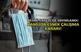 Resmi Gazete'de yayımlandı: Kamuda esnek çalışma kararı!