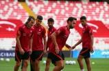 A Milli Futbol Takımı, Macaristan maçına hazır