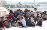 Ege Denizi'nde düzensiz göçmenleri, kuru yük gemisi kurtardı