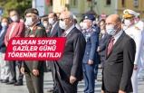 İzmir'de Gaziler Günü nedeniyle tören düzenlendi