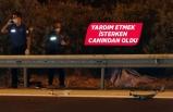 İzmir'de otomobilin çarptığı genç hayatını kaybetti
