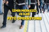 İzmir merkezli 28 ilde FETÖ'nün TSK yapılanmasına operasyon
