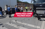 Kemalpaşa'da trafik kazası: 5 yaralı