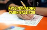 KPSS maratonu yarın başlıyor