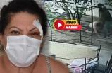 Muğla'da kadına şiddet! İşte darbedilme görüntüleri...