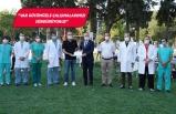 Rektör Budak'tan Egeli sağlık çalışanlarına teşekkür