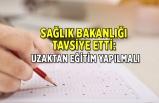 Sağlık Bakanlığından YÖK'e 'üniversitelerde uzaktan eğitim yapılsın' tavsiyesi