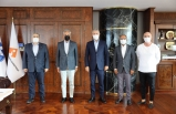 TÜRSAB heyetinden İzmir Ticaret Odası'na ziyaret