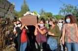 Aydın'da öldürülen emekli hemşire son yolculuğuna uğurlandı