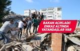 Bornova ve Bayraklı'da 5 bina yıkıldı!