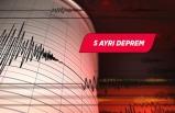 Ege Denizi'nde5 büyüklüğünde deprem