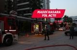 İzmir Bayraklı'da restoran yangını!