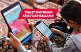 İzmir Büyükşehir Belediyesi'nden 3 bin tabletlik eğitim desteği