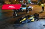İzmir'de feci kaza: İkiye bölündü!