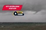 İzmir'de sağanak ve dolu yağışı!