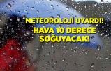 Meteoroloji uyardı! 3 günde 10 derece soğuyacak