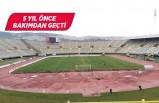 Atatürk Stadyumu maçlara kapatıldı!