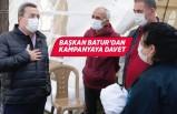 Başkan Abdül Batur'dan 10 bin lira bağış