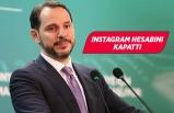 Berat Albayrak Instagram hesabını kapattı