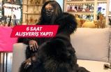 Bülent Ersoy alışveriş yaptı; çantaları taksiye sığmadı!