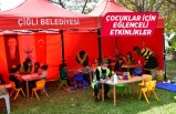Çiğli Belediyesi'nden depremzede çocuklar için aktiviteler