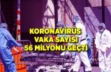 Dünya genelinde Kovid-19 vaka sayısı 56 milyon 564 bini geçti