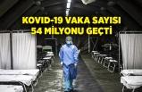Dünyada Kovid-19 vaka sayısı 54 milyonu geçti