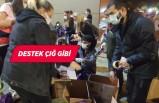İzmir'de depremzedelere destek çığ gibi
