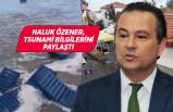 Kandilli Rasathanesi İzmir'deki tsunami bilgilerini paylaştı