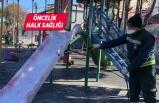 Konak'ta salgına karşı dört koldan tedbir