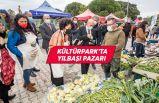 Başkan Soyer, yılbaşı alışverişini Kültürpark Üretici Pazarı'nda yaptı