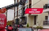 Evdeki doğal gaz patlaması sonucu 5 kişi yaralandı
