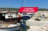 İzmir'de teknelerden motor çalan 4 şüpheli tutuklandı