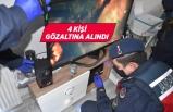 İzmir Menemen'de uyuşturucu operasyonu