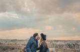 Kapadokya'da aşk dolu pozlar!