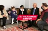 Kılıçdaroğlu, İzmir'deki depremin simge isimlerini ziyaret etti