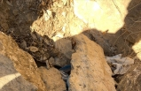 PKK'lı teröristlere ait el yapımı patlayıcı ve tüp ele geçirildi