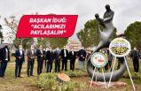 Türkan Bebek Bornova'daadını taşıyan parkta anıldı