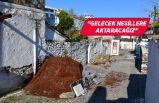 Yukarıköy'de restorasyon başladı