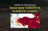 Harita ile paylaştılar: NASA'dan Türkiye'ye kuraklık uyarısı