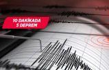 İzmir'de gece yarısı korkutan deprem!