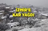 İzmir'de kar yağışı etkili oldu