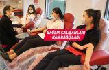 Kan bağışlarına sağlıkçılardan destek