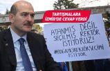 Süleyman Soylu, rektör tartışmalarına son noktayı koydu