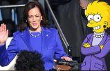 Yemin törenine Simpsonlar damga vurdu!