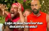 Çağrı Atakan Survivor'dan diskalifiye mi oldu? 'O hareket Survivor dışı'