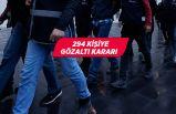 FETÖ'nün TSK yapılanmasına operasyon: 294 kişi hakkında gözaltı kararı
