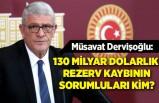 İYİ Parti Grup Başkanvekili Müsavat Dervişoğlu, soru önergesi verdi